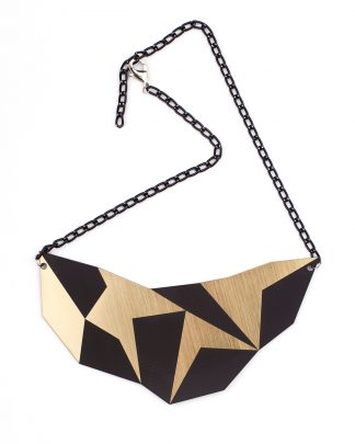 Geo L Necklace | Lasercut jewelry | Rename | Made in Belgrade