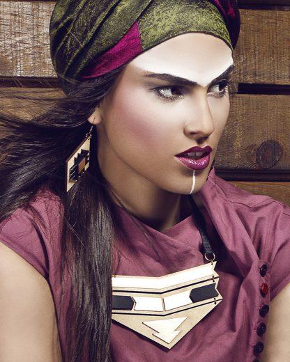 Ethnotize earrings   Lasercut jewellery   Rename jewelry   Made in Belgrade