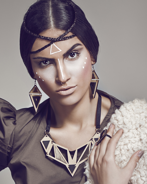 Ethnotize earrings | Lasercut jewellery | Rename jewelry | Made in Belgrade