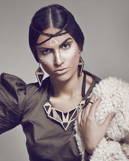 Ethnotize necklace   Lasercut jewellery   Rename jewelry   Made in Belgrade