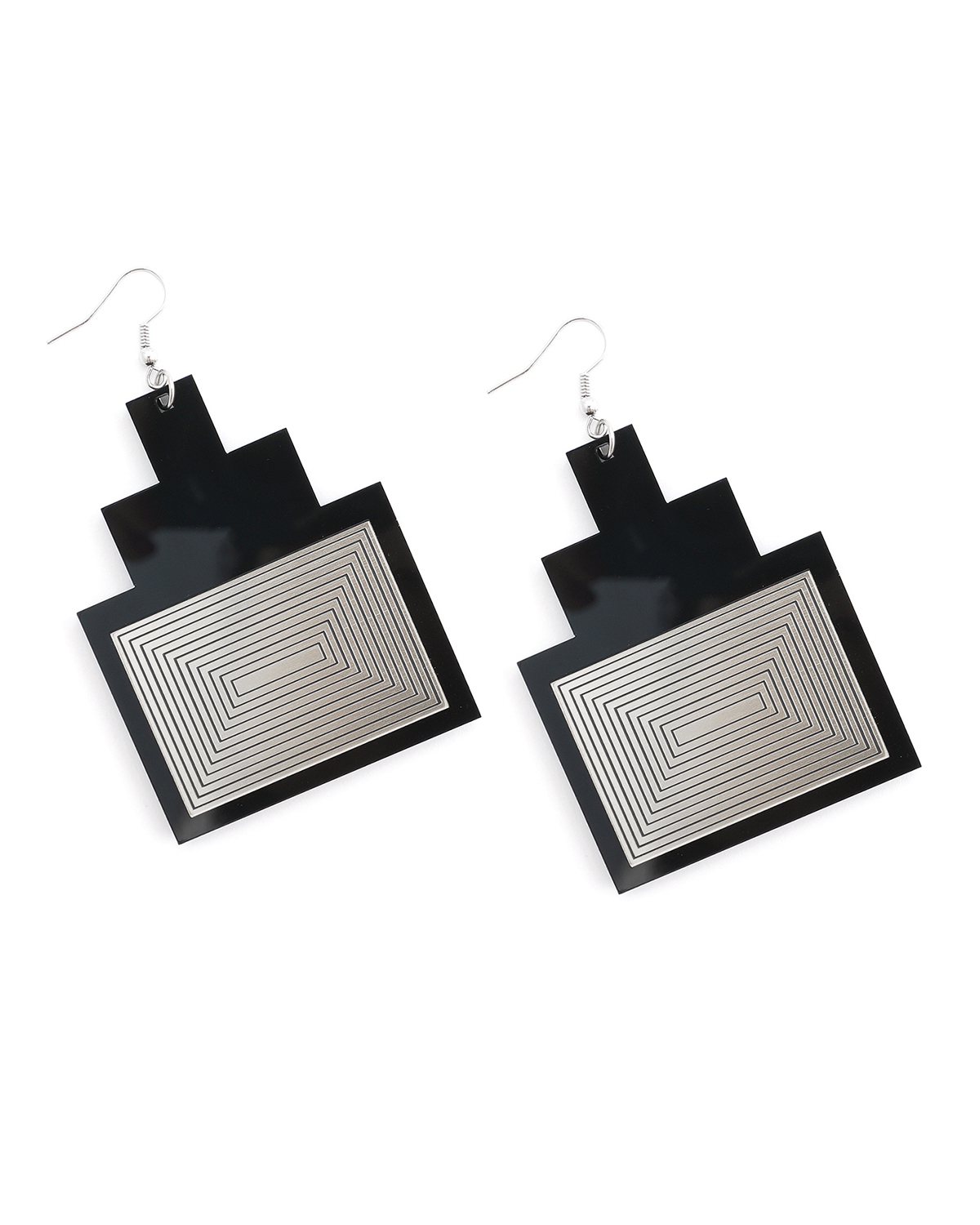 Newyork earrings | Lasercut jewelry | Rename | Made in Belgrade