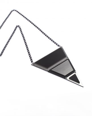London L necklace | Lasercut jewelry | Rename | Made in Belgrade