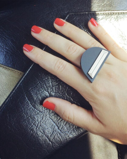 Africa ring   Lasercut jewelry   Rename   Made in Belgrade