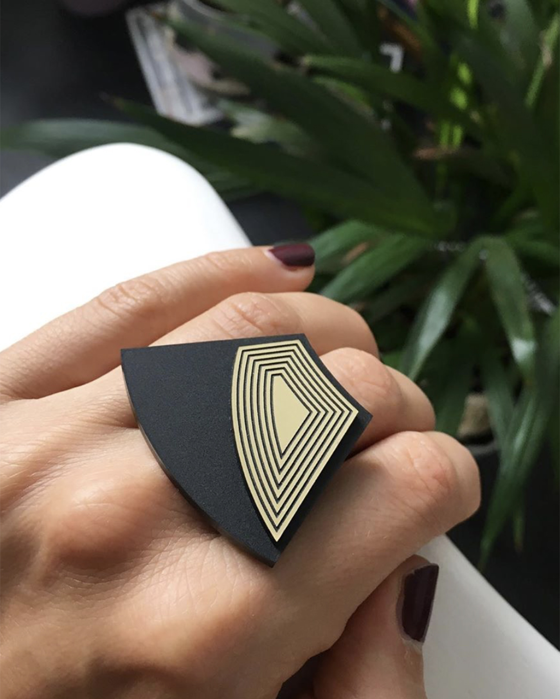 Barcelona ring   Lasercut jewelry   Rename   Made in Belgrade