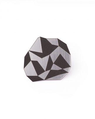 Geo L Ring | Lasercut jewelry | Rename | Made in Belgrade