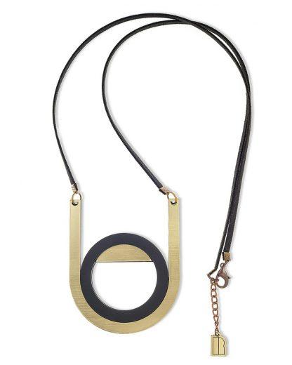 Newmoon necklace   Lasercut jewelry   Rename   Made in Belgrade