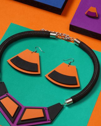 Popout earrings | Lasercut jewellery | Rename jewelry | Made in Belgrade