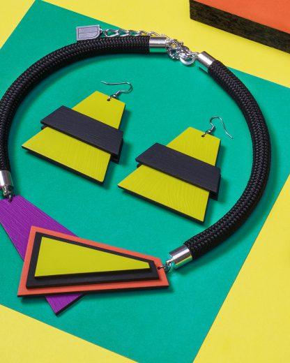 Popout earrings | Lasercut jewellery | Rename jewelry | Made in Belgrade