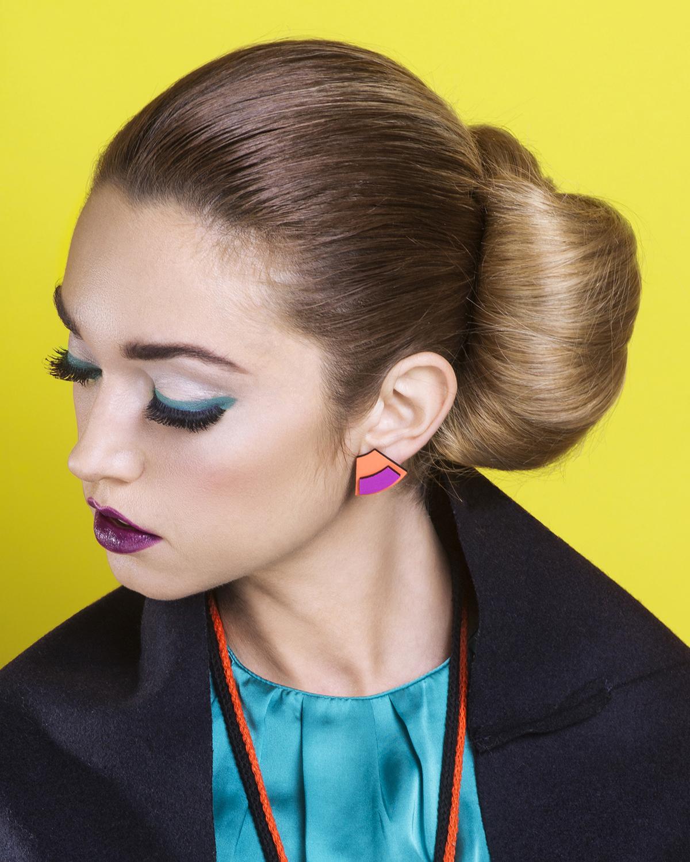 Popout mini earrings | Lasercut jewellery | Rename jewelry | Made in Belgrade