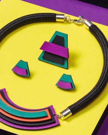 Popout earrings | Lasercut jewelry | Rename | Made in Belgrade