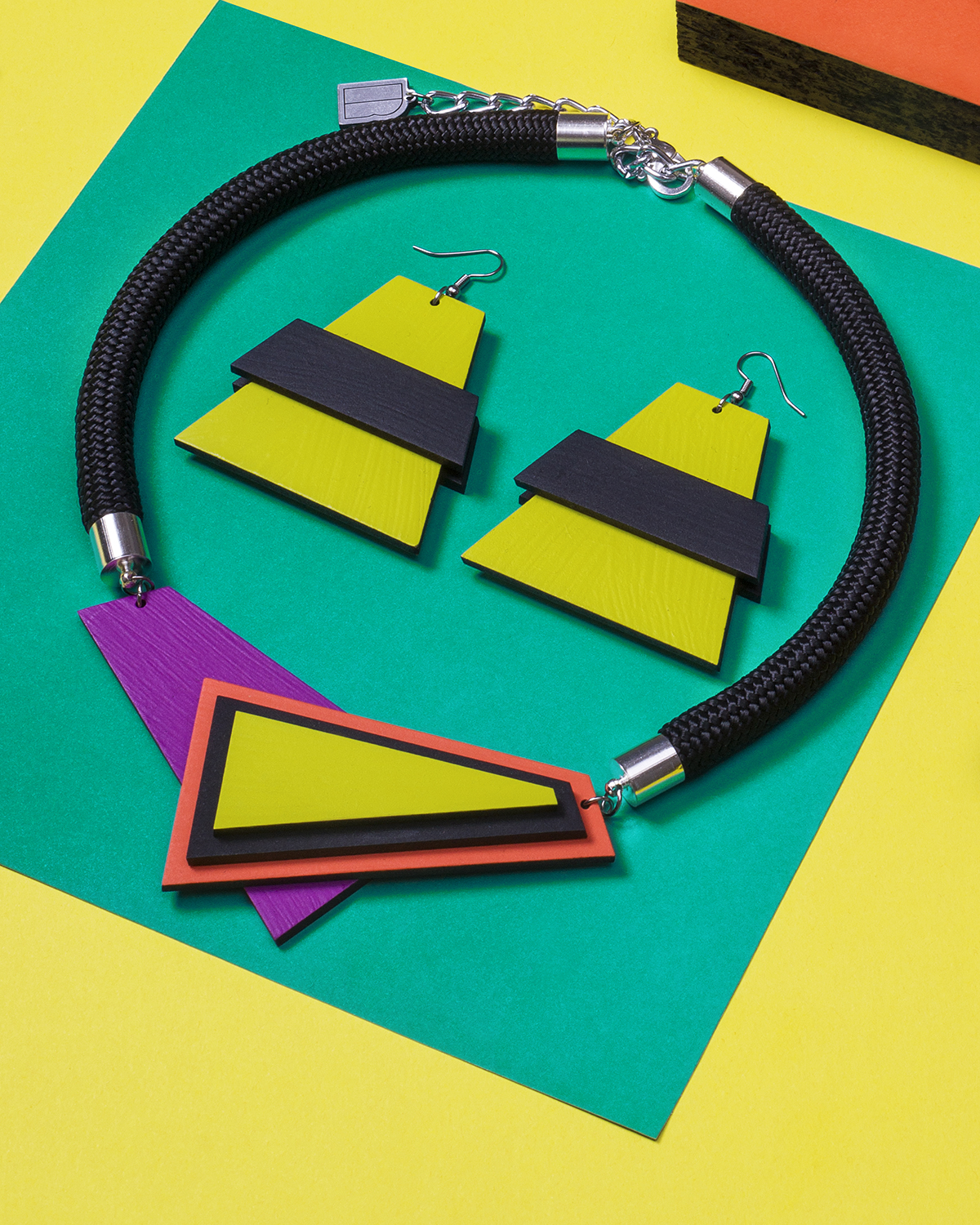 Popout necklace | Lasercut jewelry | Rename jewelry | Made in Belgrade