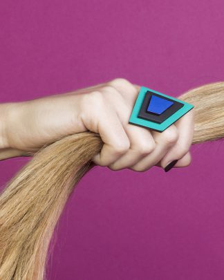 Popout Ring200 | Lasercut jewelry | Rename | Made in Belgrade