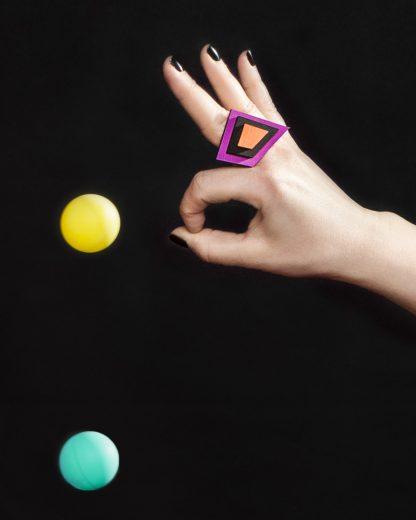 Popout ring | Lasercut jewellery | Rename jewelry | Made in Belgrade