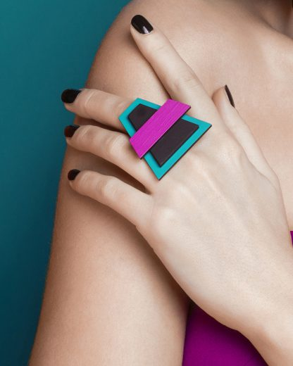 Popout Ring400 | Lasercut jewelry | Rename | Made in Belgrade