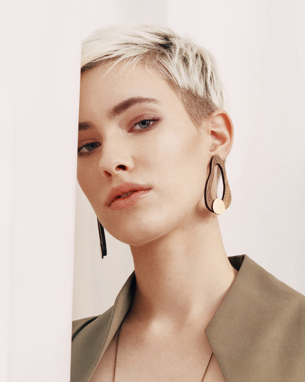 Flow earrings | Lasercut jewellery | Rename jewelry | Made in Belgrade