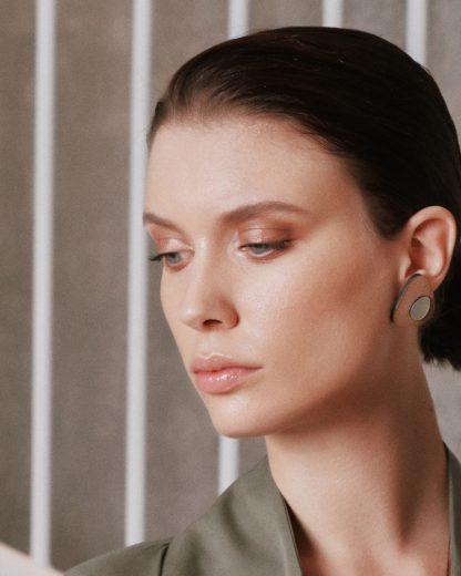 Flow earrings   Lasercut jewellery   Rename jewelry   Made in Belgrade