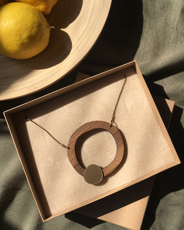 Flow necklace | Lasercut jewelry | Rename | Made in Belgrade