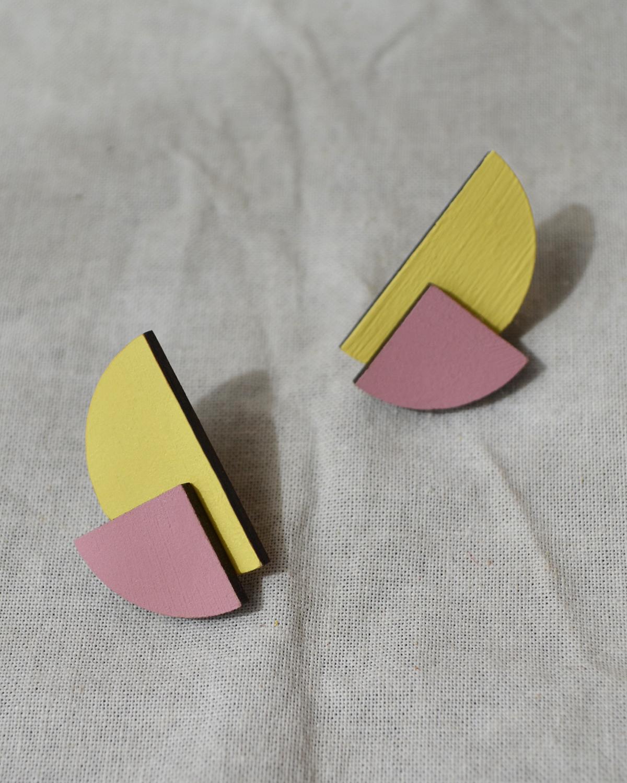 Rename jewelry   Lasercut jewellery   Statement earrings   Made in Belgrade