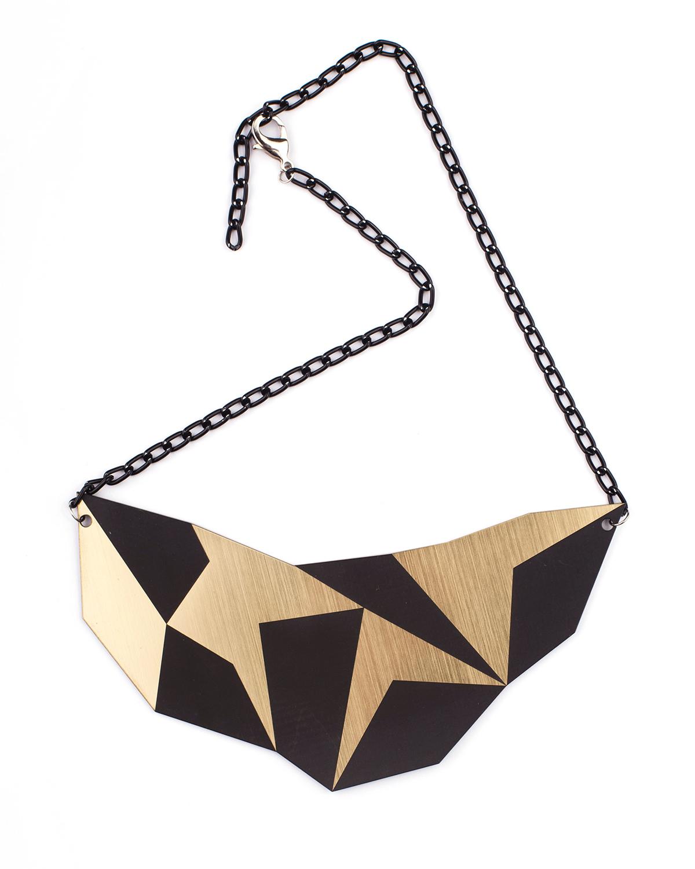 Geo L Necklace | Lasercut jewelry | Rename | Made in Belgrade
