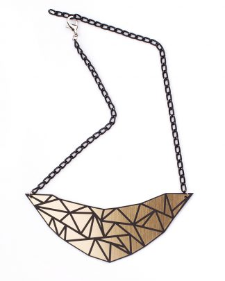Geo Necklace | Lasercut jewelry | Rename | Made in Belgrade