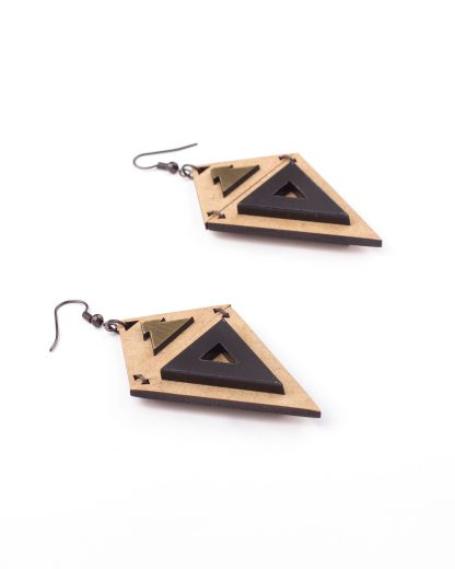 Peru Earrings | Lasercut jewellery | Rename jewelry | Made in Belgrade