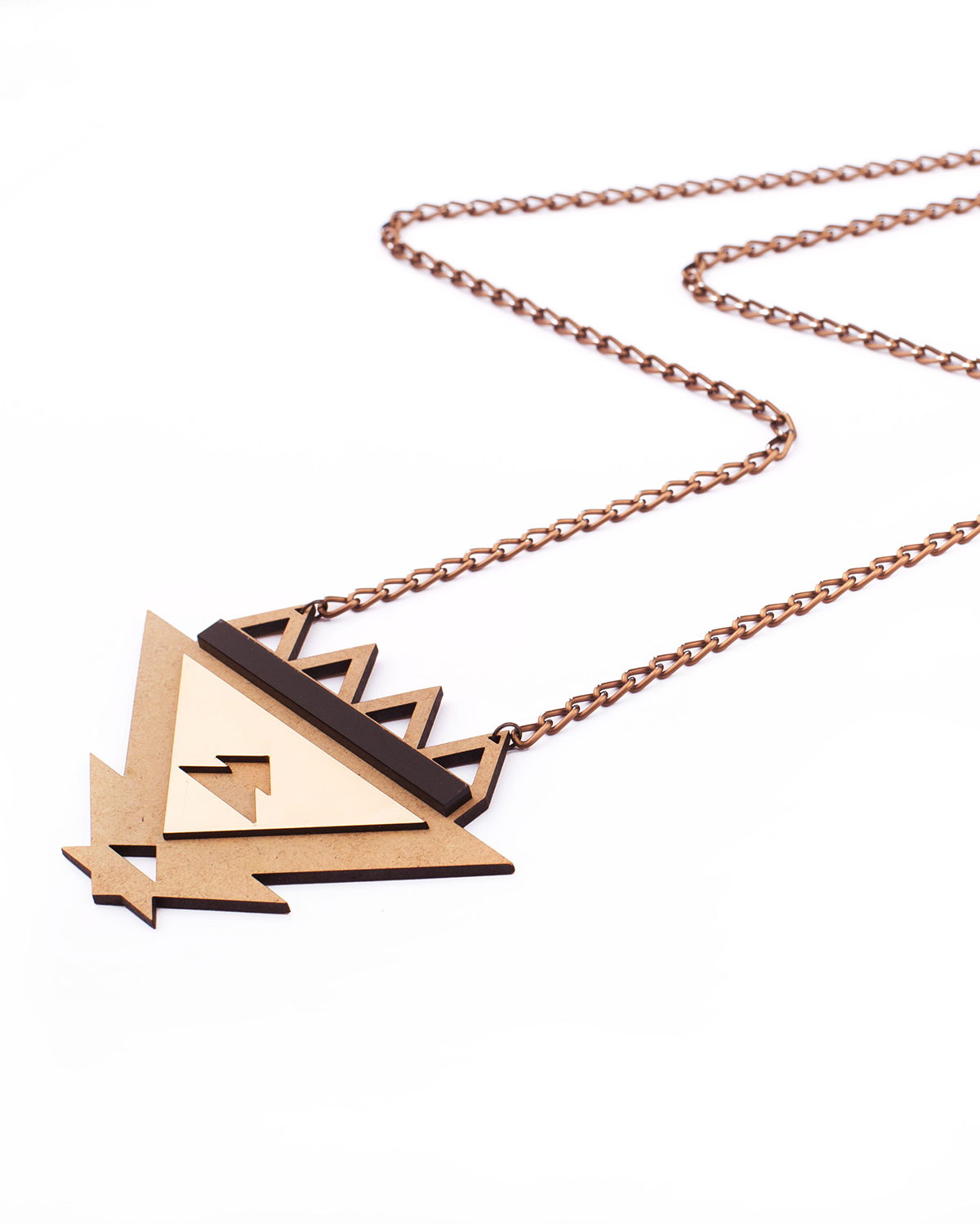 Ethnotize necklace | Lasercut jewellery | Rename jewelry | Made in Belgrade