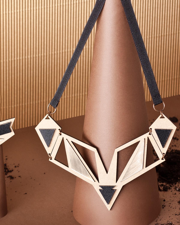 Ethnotize necklace | Lasercut jewellery | Rename jewelry | Made in Belgrade