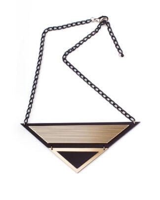 London S necklace | Lasercut jewelry | Rename | Made in Belgrade