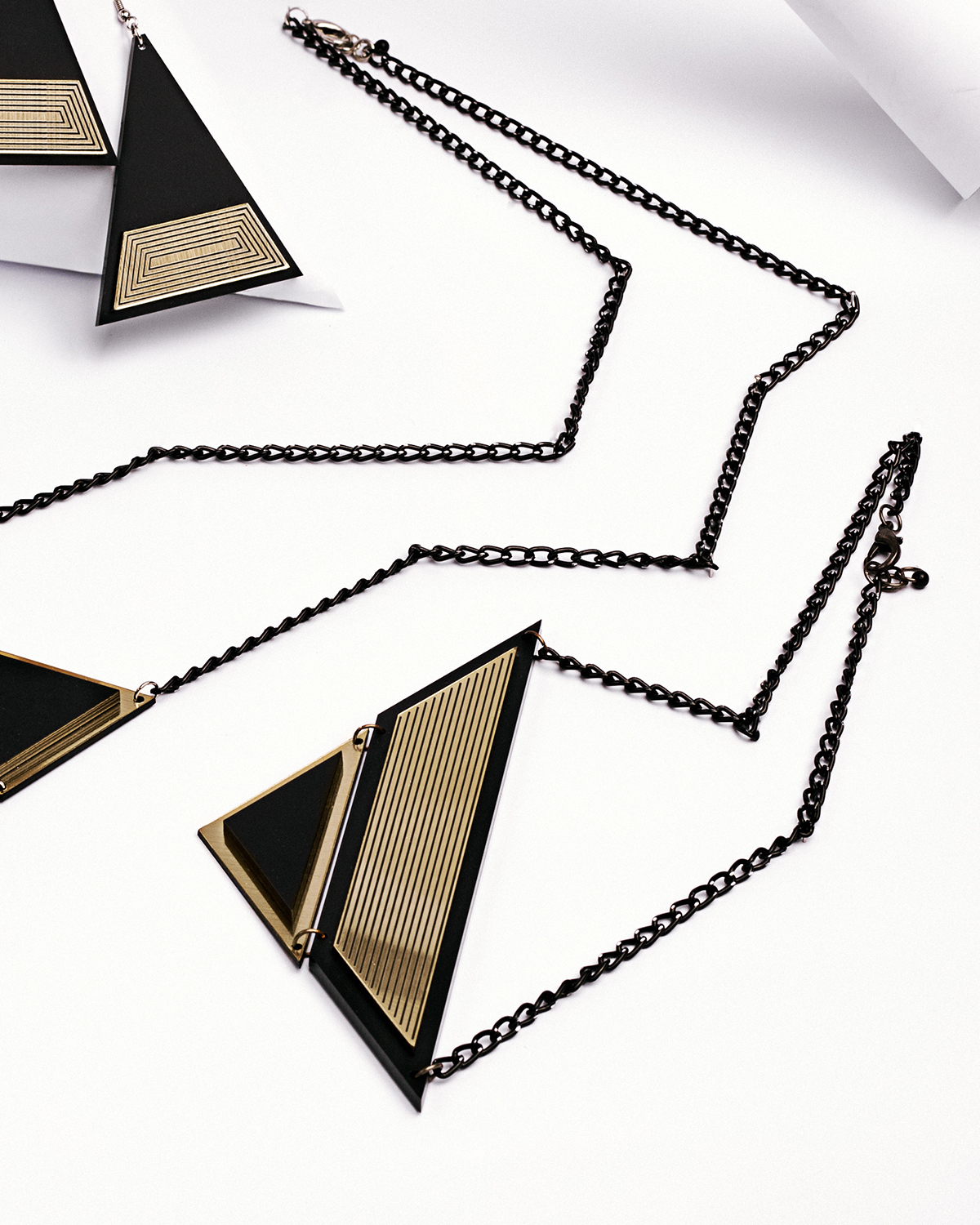 Golden rule necklace | Lasercut jewellery | Rename jewelry | Made in Belgrade