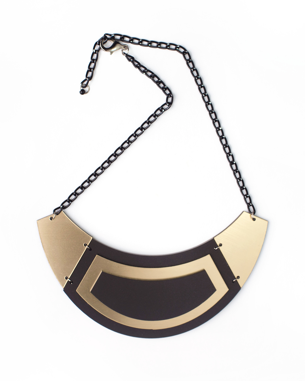 Paris necklace | Lasercut jewelry | Rename | Made in Belgrade