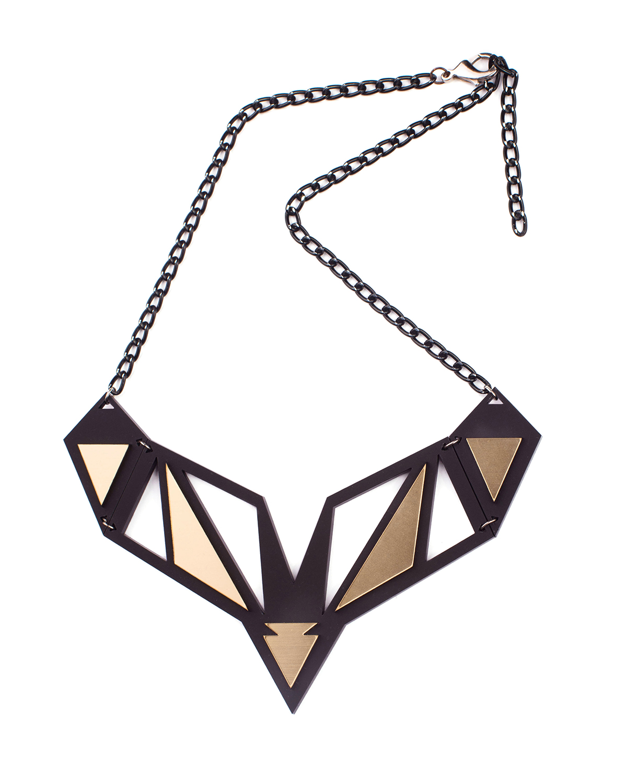 Peru necklace | Lasercut jewelry | Rename | Made in Belgrade