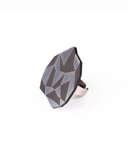 Golden rule ring   Lasercut jewelry   Rename   Made in Belgrade