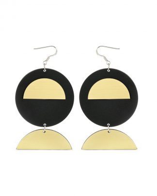 Moondance earrings | Lasercut jewelry | Rename | Made in Belgrade