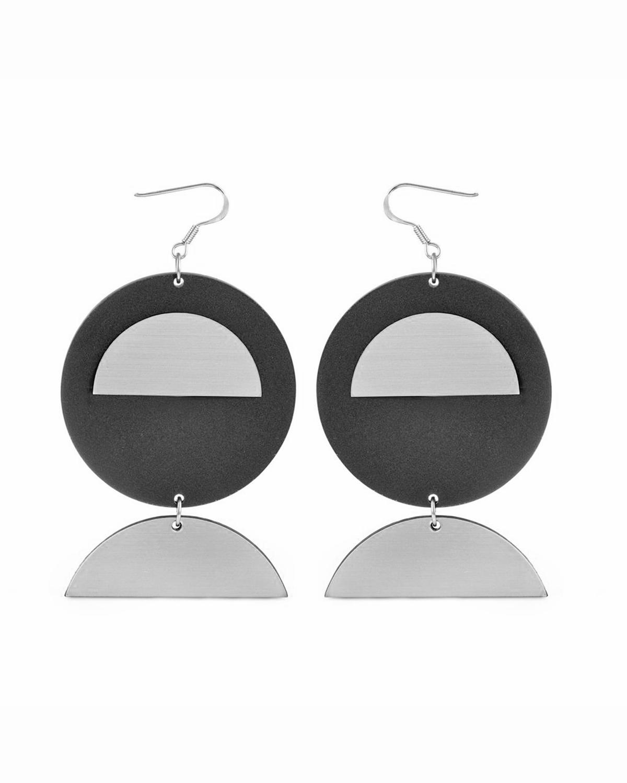 Moondance earrings | Lasercut jewelry | Rename | Made in Belgrade