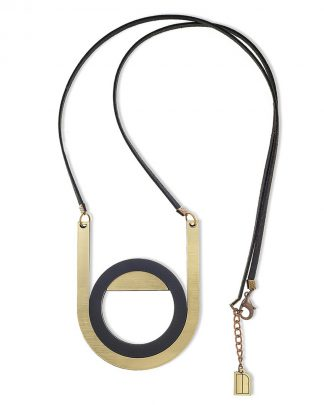 Newmoon necklace | Lasercut jewelry | Rename | Made in Belgrade