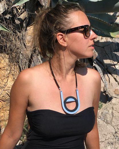 Moon necklace   Lasercut jewellery   Rename jewelry   Made in Belgrade