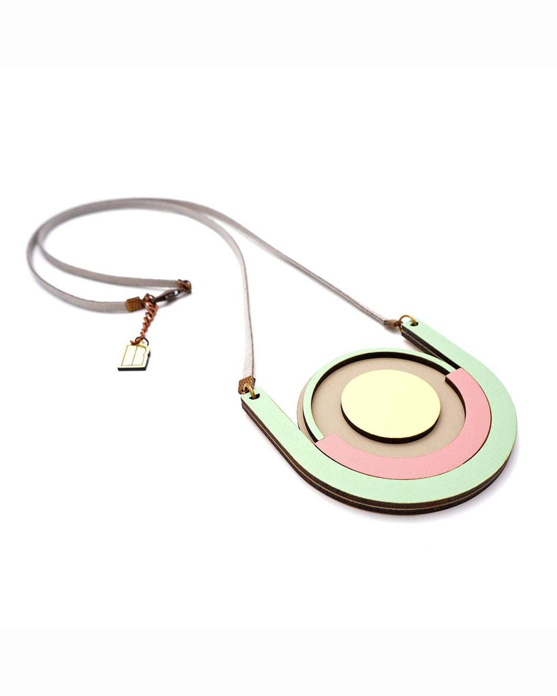 Pastel mint necklace