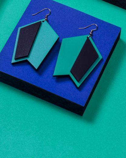 Earrings | Lasercut jewelry | Rename | Made in Belgrade
