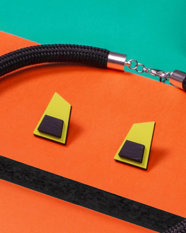 Popout mini earrings | Lasercut jewelry | Rename | Made in Belgrade