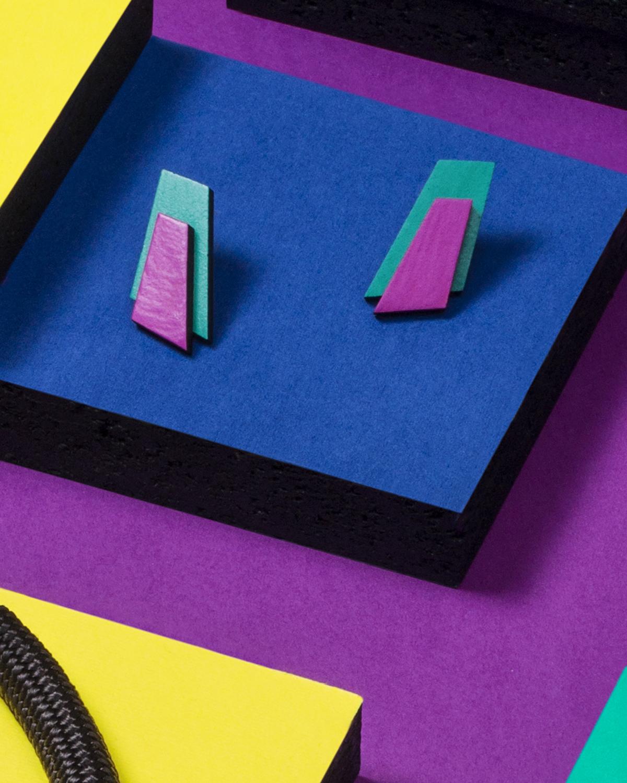 Popout Mini400 Earrings | Lasercut jewelry | Rename | Made in Belgrade