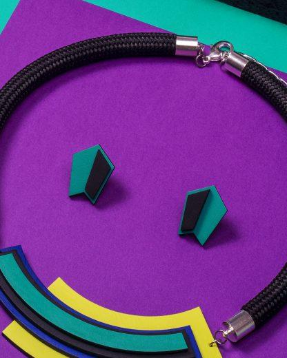 Popout Mini500 Earrings | Lasercut jewelry | Rename | Made in Belgrade