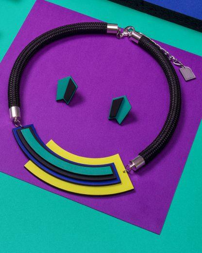 Popout necklace | Lasercut jewellery | Rename jewelry | Made in Belgrade