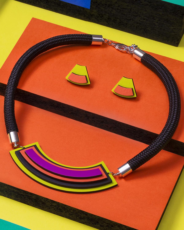Popout necklace   Lasercut jewellery   Rename jewelry   Made in Belgrade