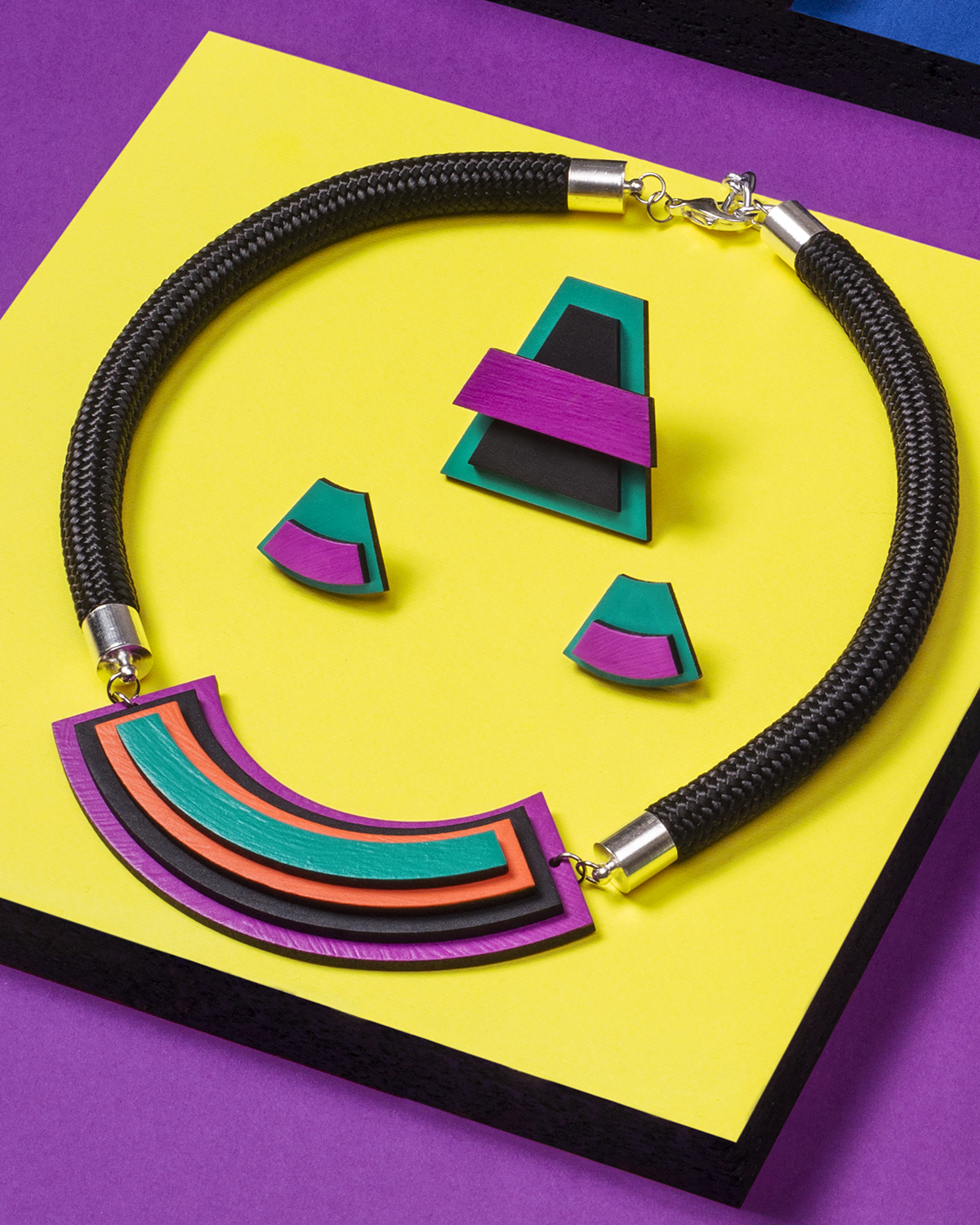 Popout necklace   Lasercut jewelry   Rename   Made in Belgrade