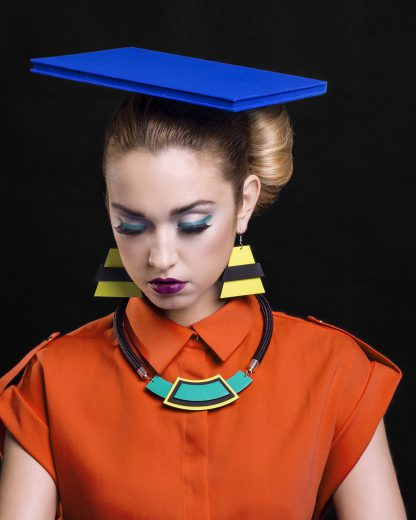 Turquoise Necklace | Lasercut jewelry | Rename | Made in Belgrade