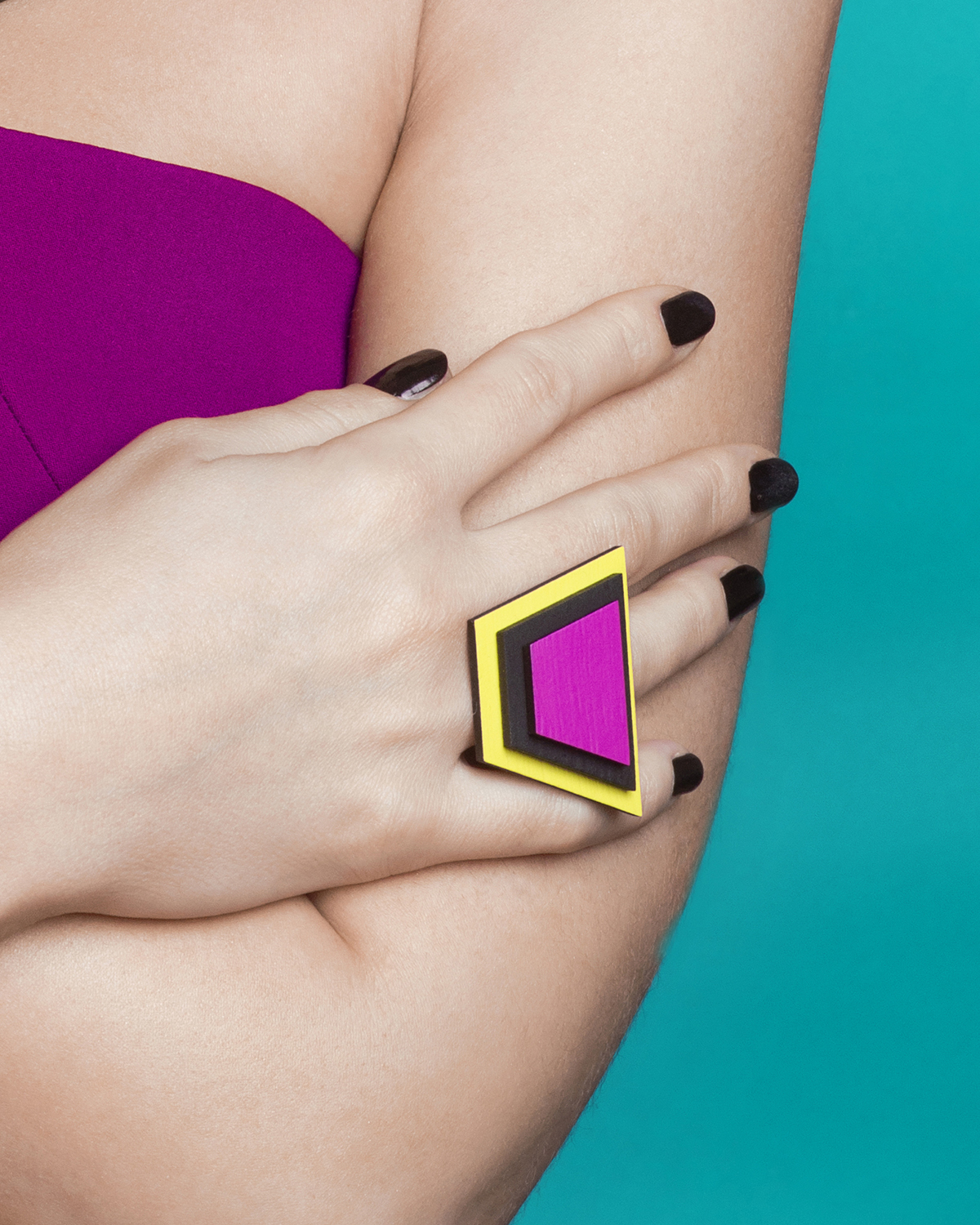 Popout Ring500 | Lasercut jewelry | Rename | Made in Belgrade