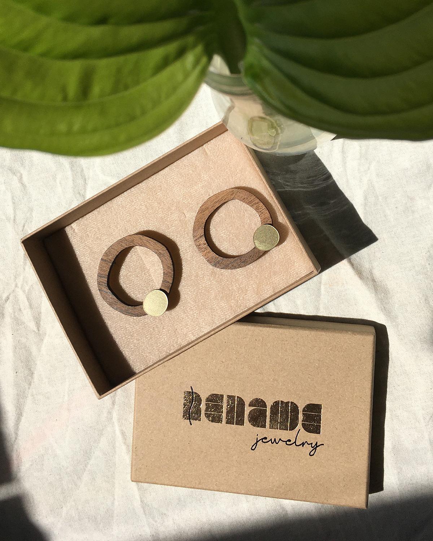 Flow earrings | Lasercut jewelry | Rename | Made in Belgrade