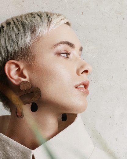 Sculpture earrings