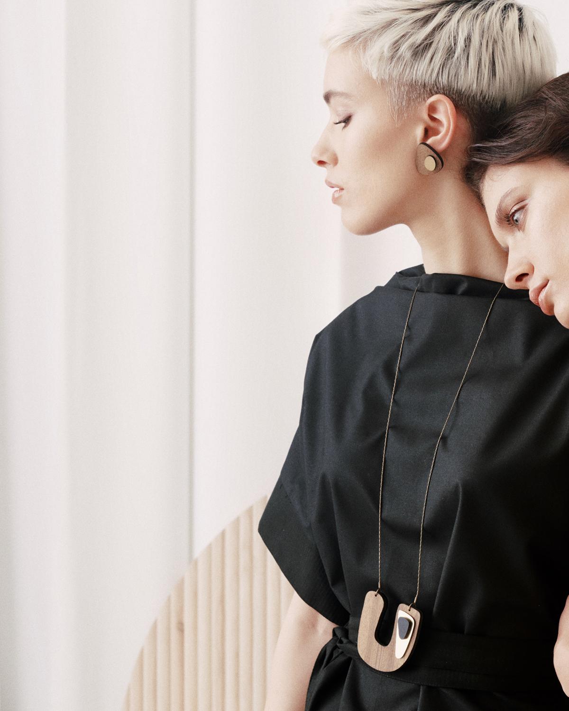 Flow necklace | Lasercut jewellery | Rename jewelry | Made in Belgrade