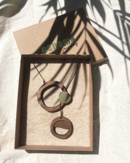 Flow necklace   Lasercut jewelry   Rename   Made in Belgrade